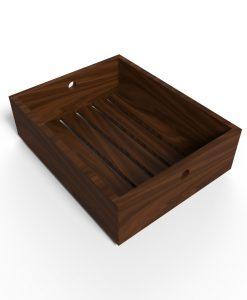 Bandeja de madera Lumiere - Alta