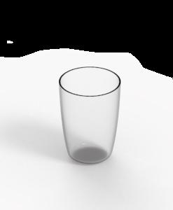 Mini-shot plastico cristal