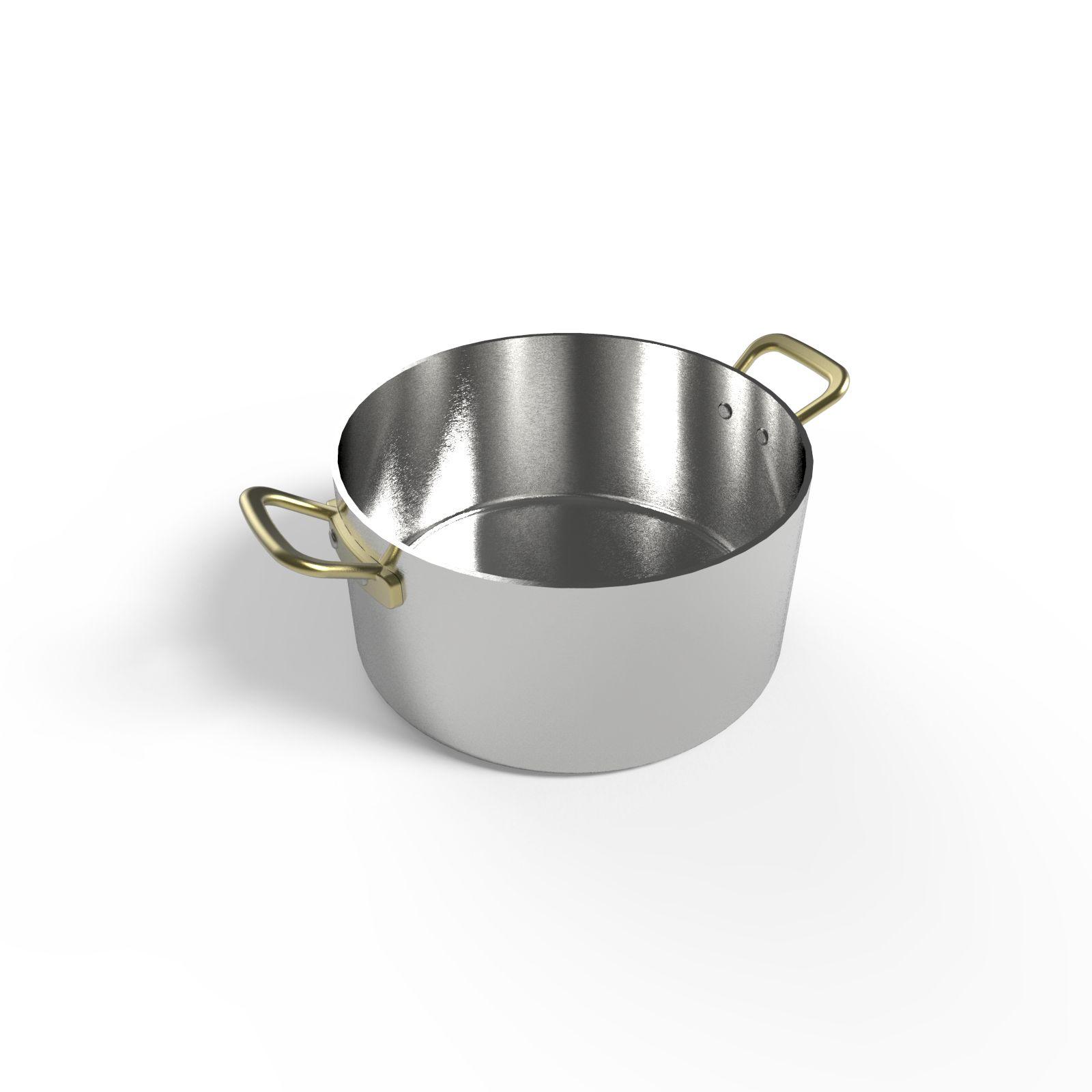 Cacerola de aluminio 14 cm ajidise o - Accesorios para catering ...