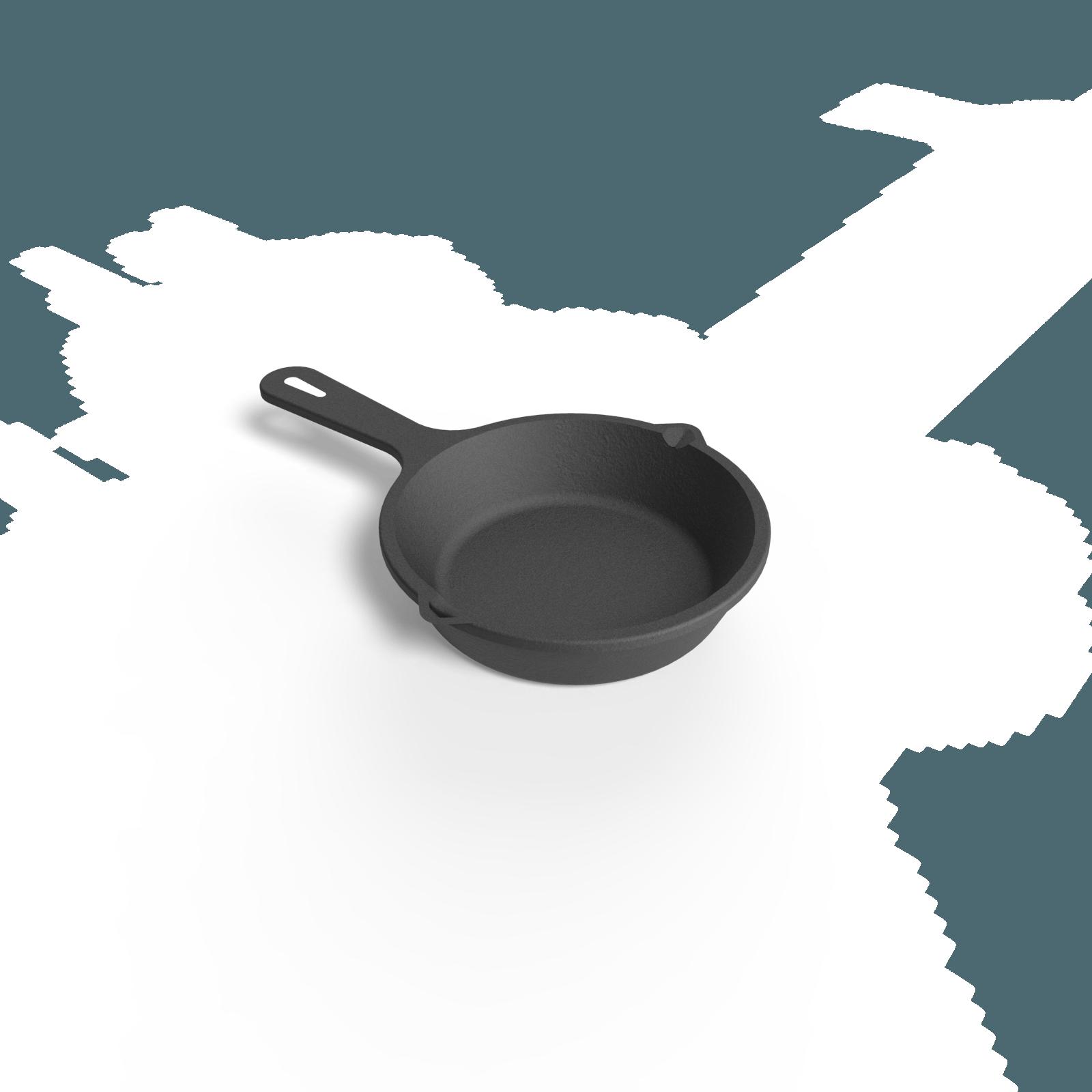 Mini sart n de hierro 9 cm ajidise o - Sarten hierro fundido ...