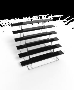 tribuna-base-cromada-negro